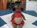Black Baby Doll Composite Very Old