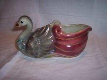 Vintage Swan Planter 8