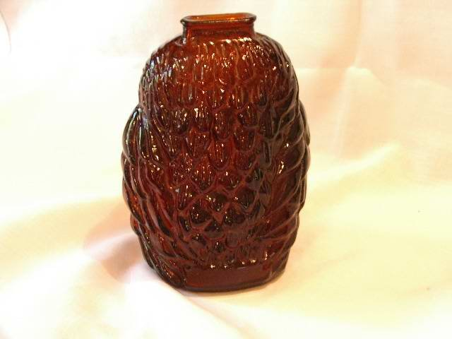 Owl Bank Brown Glass 6.5