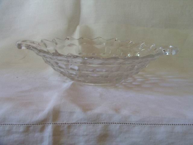 Fostoria American Two Handled Serving Dish