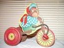 J Fred Muggs NBC Today Show Monkey on Tricycle