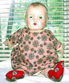 Vintage Doll Plastic