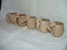 Nude Women Cups Set of 5