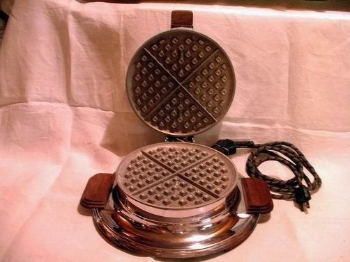 Heatmaster Waffle Iron Style 307
