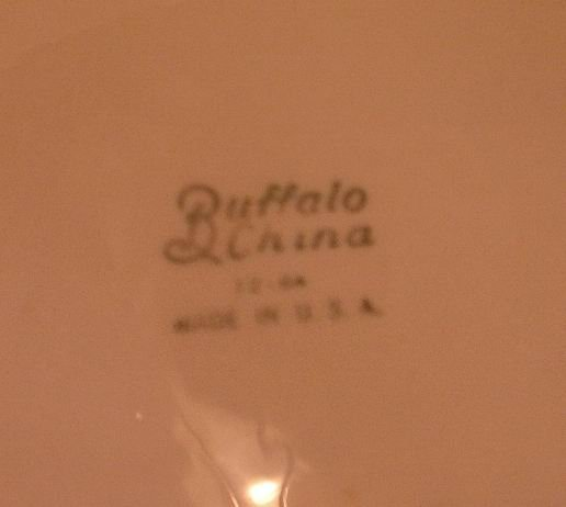 Buffalo China Grill Plates