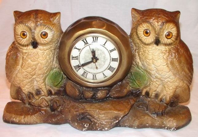 Owl Clock by Lanshire