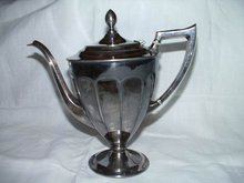 Silverplate Teapot Forbes of Canada