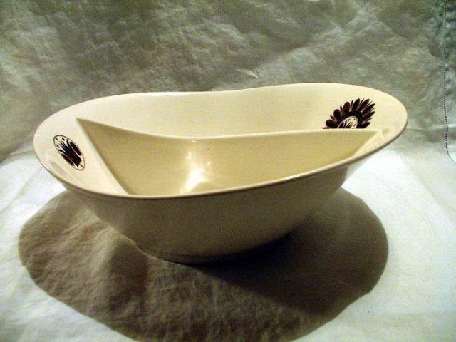 Vintage Georges Briard Divided Bowl
