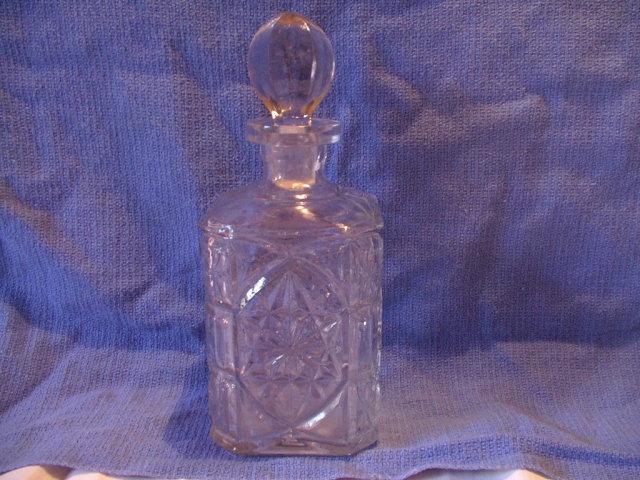 Depression Glass Decanter Small 9