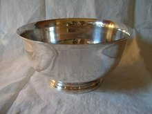 Sterling Silver Paul Revere Bowl Reproduction
