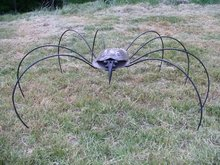 Large Steel Spider Original Work by Ernest