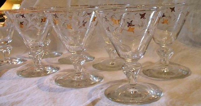 Vintage Libbey Champagne Sherbets Set of 8