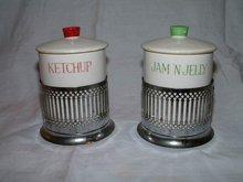 Japan Jam Jelly and Ketchup Jars