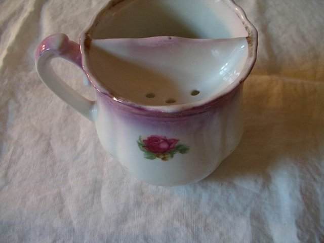 Shaving Mug Germany Red Rose