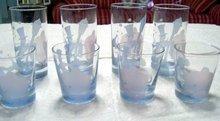 Pink Elephant Drunken Man Cocktail Glasses