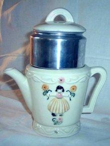 Tiny Drip O Lator Coffee Pot Dutch Girl