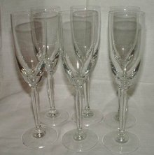 Champagne Flutes Set of 6