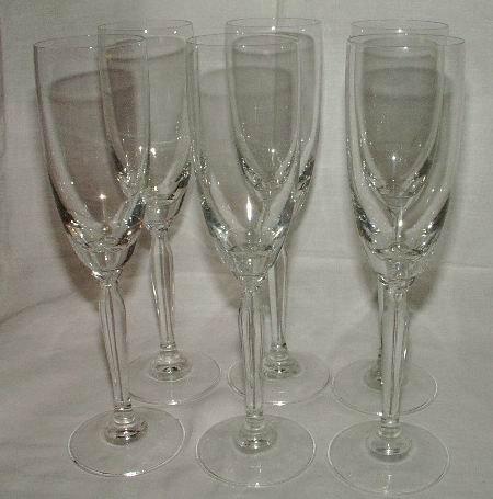 Champagne Flutes Set of 6