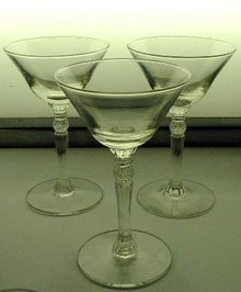 Depression Glass Low Champagne or Sherbets