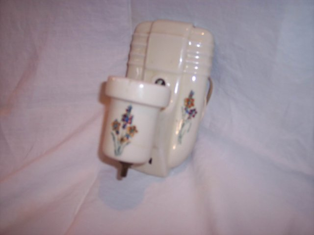 Old Porcelain Light Fixture Unusual