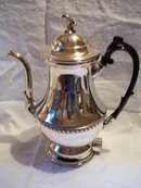 Silverplate Electric Percolator by John H. King