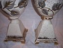 Vintage Table Lamps Handpainted