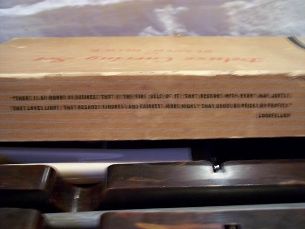 Vintage Deluxe Carving Set by Stanley