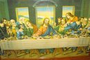 The Lord's Supper Old Framed Picture