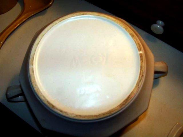 McCoy Soup Tureen and Ladle Fruit Design