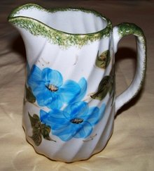 Clinchfield Artware Pitcher Handpainted Erwin, TN