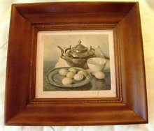 Vintage Still Life Picture in Great Frame