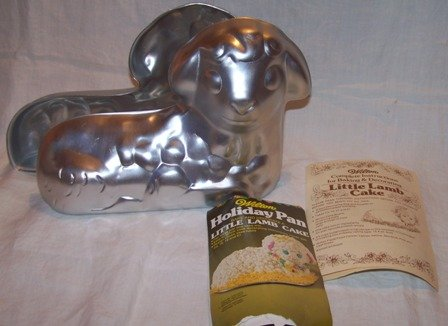 Little Lamb Cake Pan and Instructions