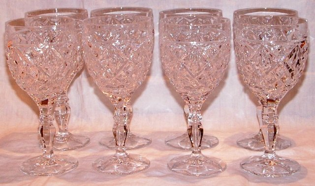 Crystal Goblets Set of 8