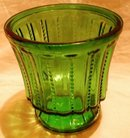 Green Spooner or Vase