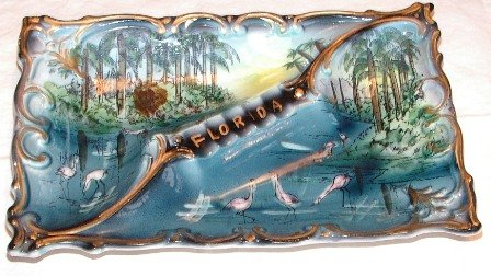 Florida Ashtray Japan Large