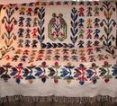 Wool Blanket Dutch Motif Full Size