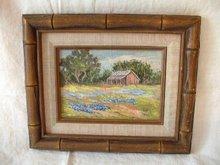 Texas Scene by B. B. Weimheimer Oil
