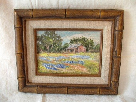 Texas Scene by B. B. Weimheimer Oil