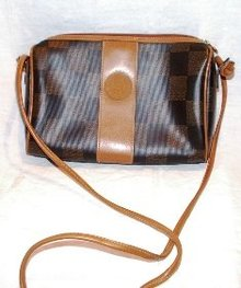 Fendi Purse Brown and Black