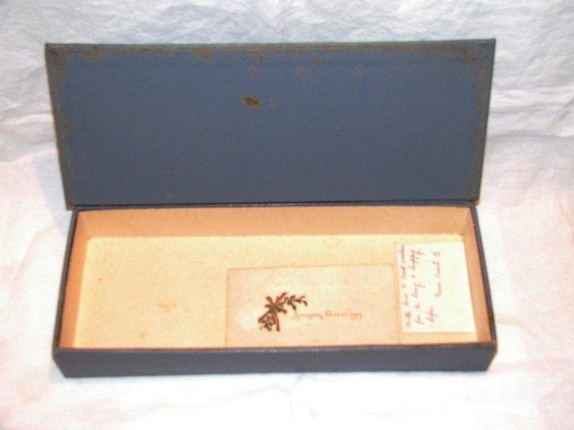Old Kraft Caramel Candy Box