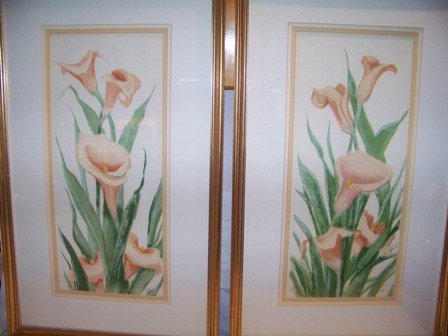 Calla Lilly Watercolor Prints Limited Edition
