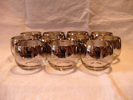 Lusterware Punch Cups or Liqueur Glasses Libbey