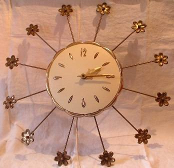 Starburst Clock Flower Tips Robert Shaw Lux