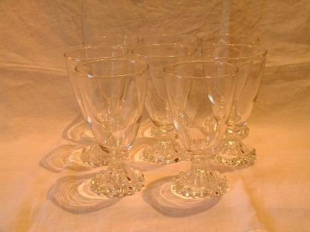 Anchor Hocking Boopie Water Goblets Set of 8