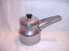 Double Boiler Ward's Best Quality Aluminum