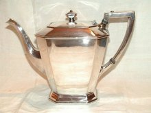 Art Deco Silverplate Coffee Pot by Wilcox