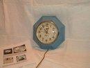 New Haven Westclox Octagonal Clock