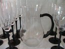 Luminarc Domino Pitcher and Glasses 15 Pieces