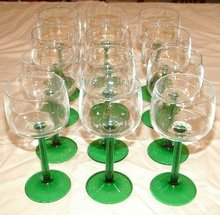 Luminarc Cris D'Arques Wines Emerald 12 Stems