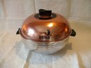 West Bend Bun Warmer Copper Finish Top